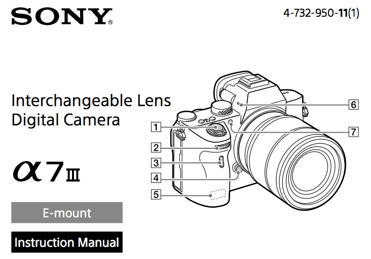 sony a7 iii about manual chinese