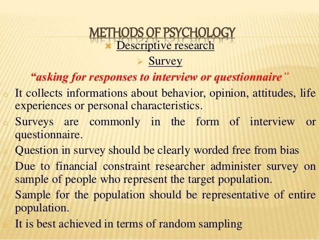 representative sample psychology