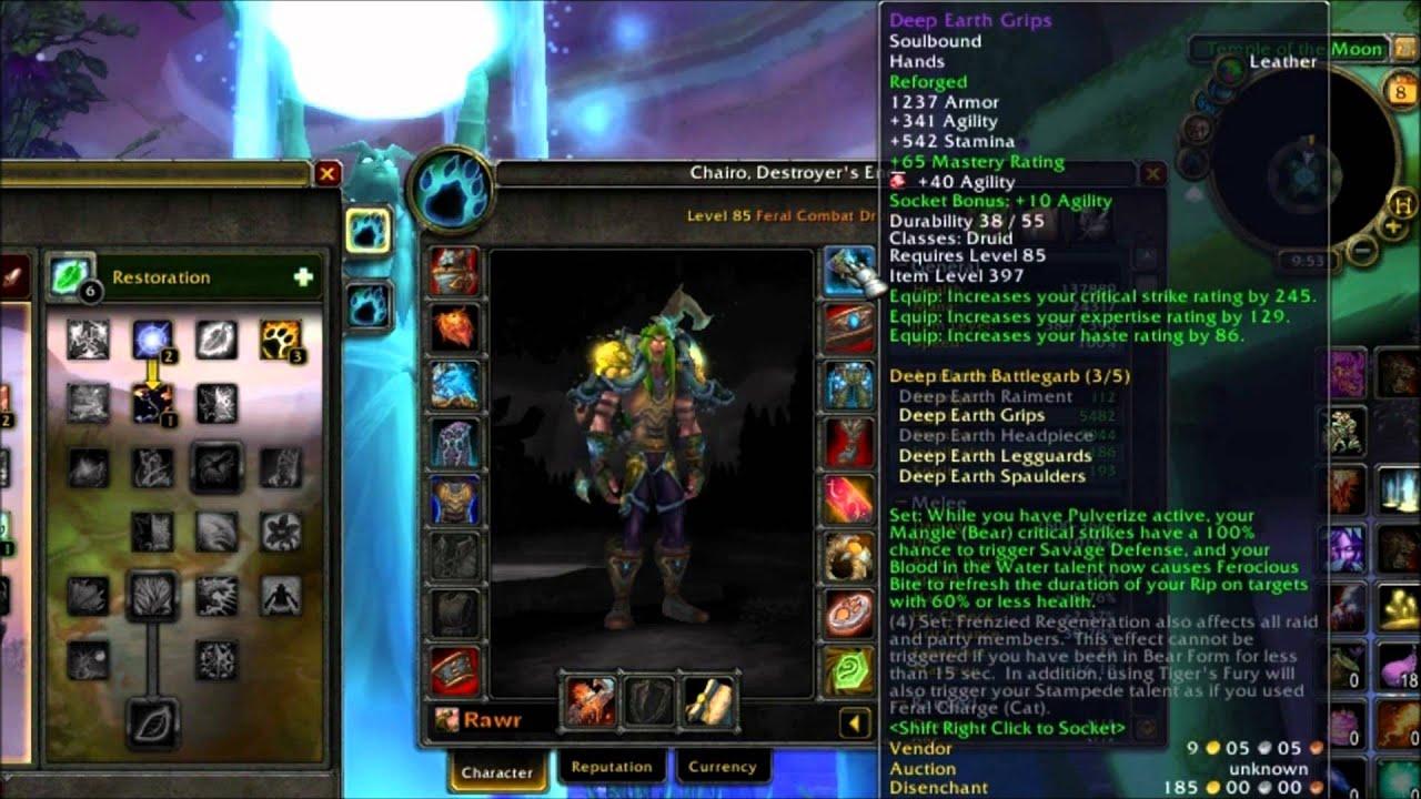 resto druid guide 8.1