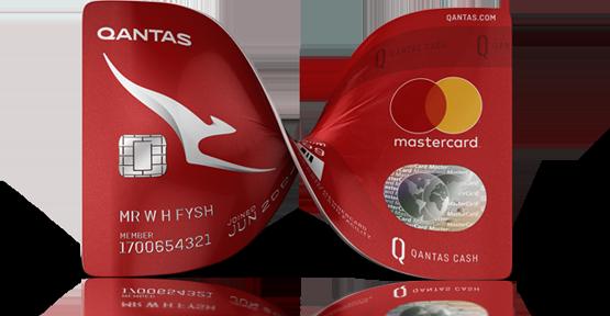 qantas cash card application