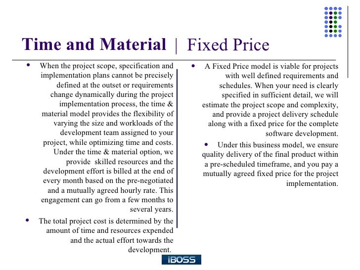 sample time and materials contract