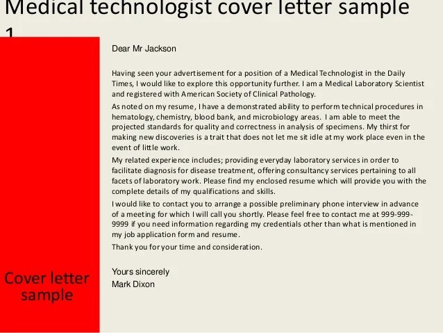 sample food technologist cover letter