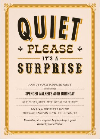 sample surprise retirement party invitations