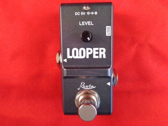 rowin nano pedal looper instructions