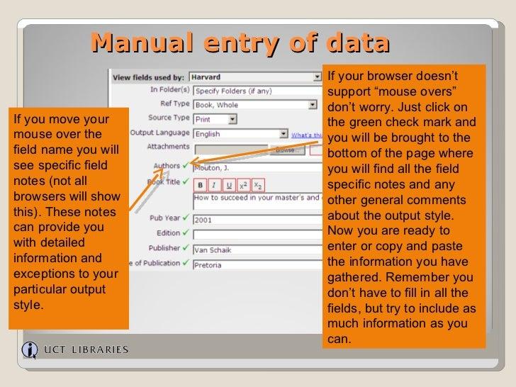 refworks manual
