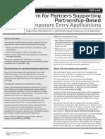 partnership based temporary visa guide