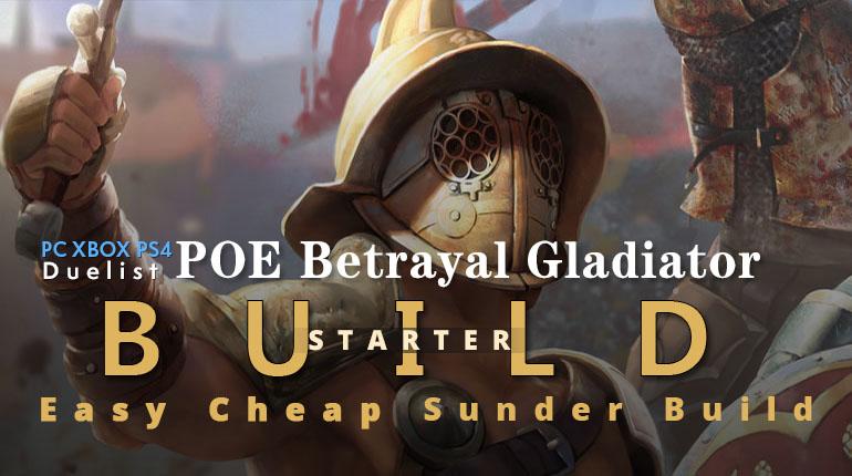 poe sunder leveling guide speedrun duelist