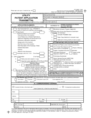 online patent application us
