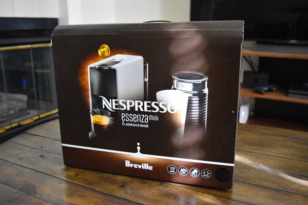nespresso essenza mini instructions