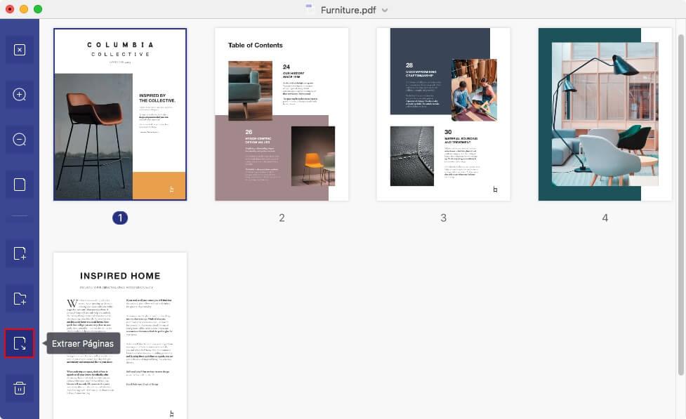 separar paginas pdf