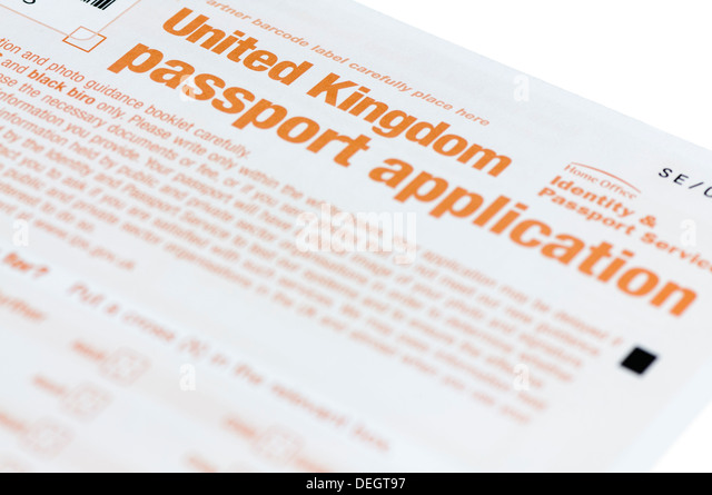 where to send passport application uk
