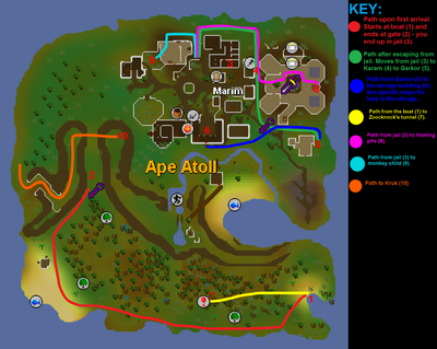 monkey madness puzzle guide