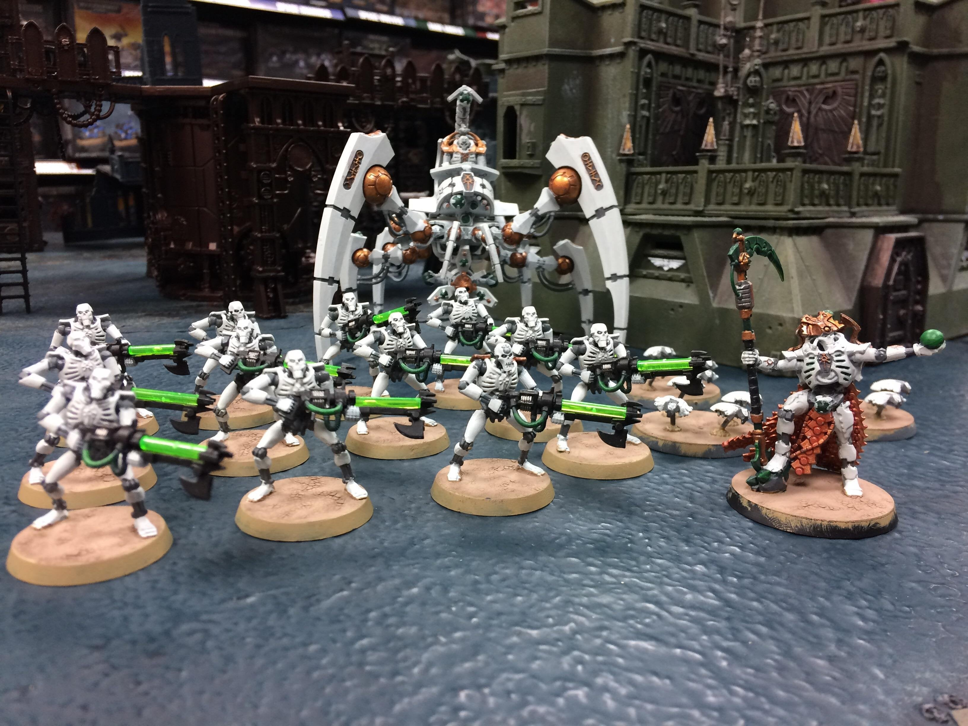 start collecting necrons instructions