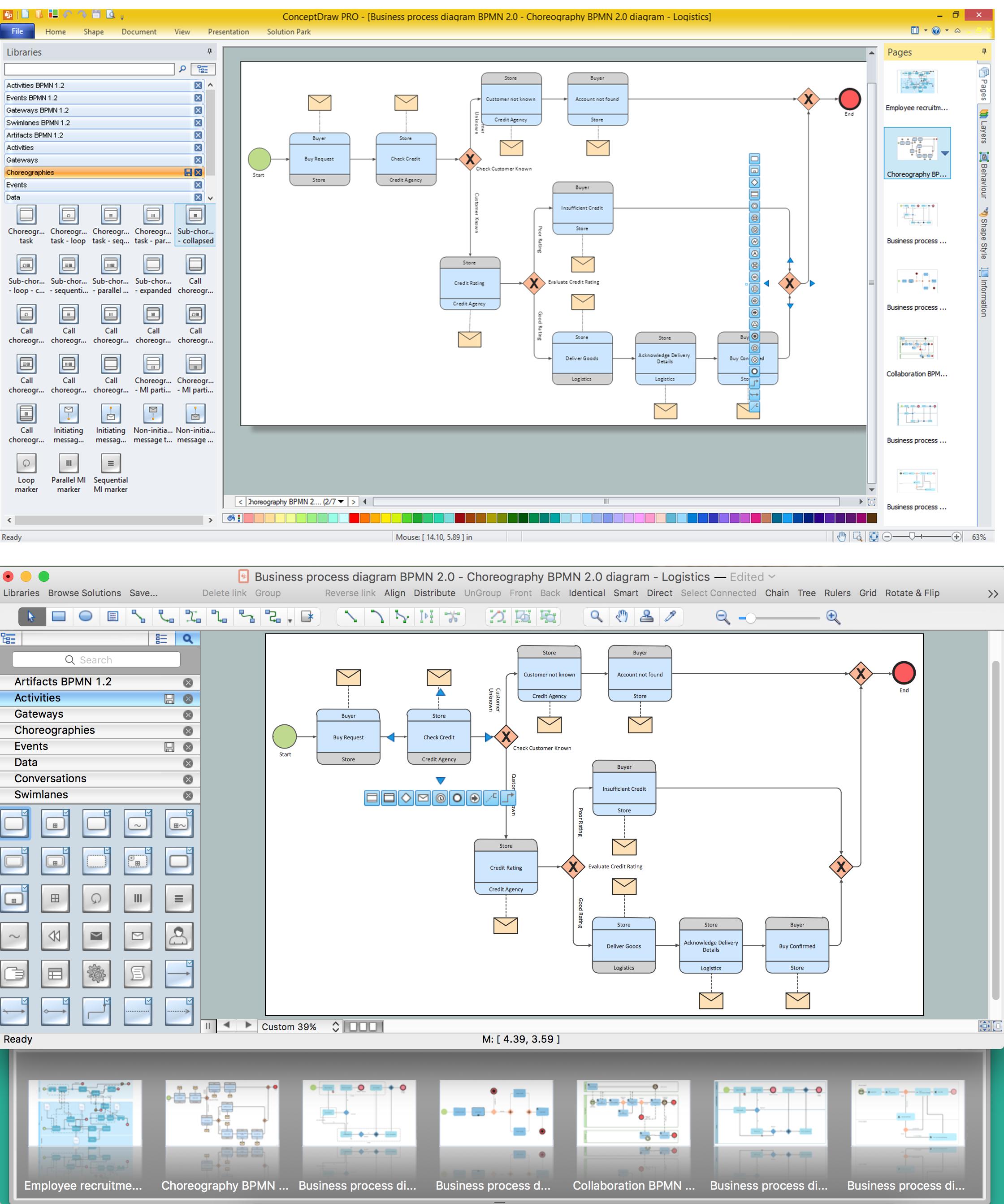 sample modeling mac