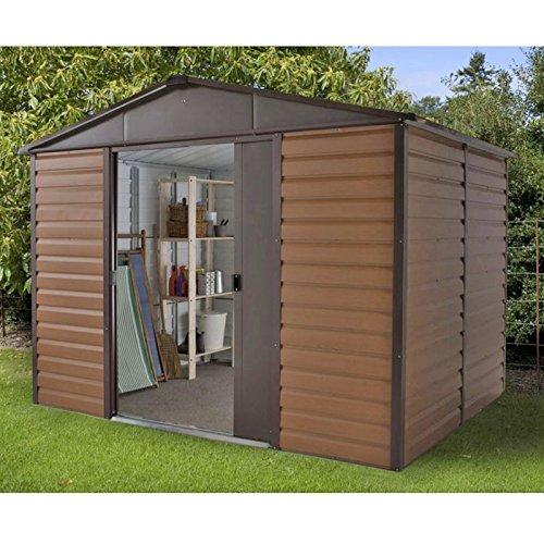 yardmaster metal shed instructions