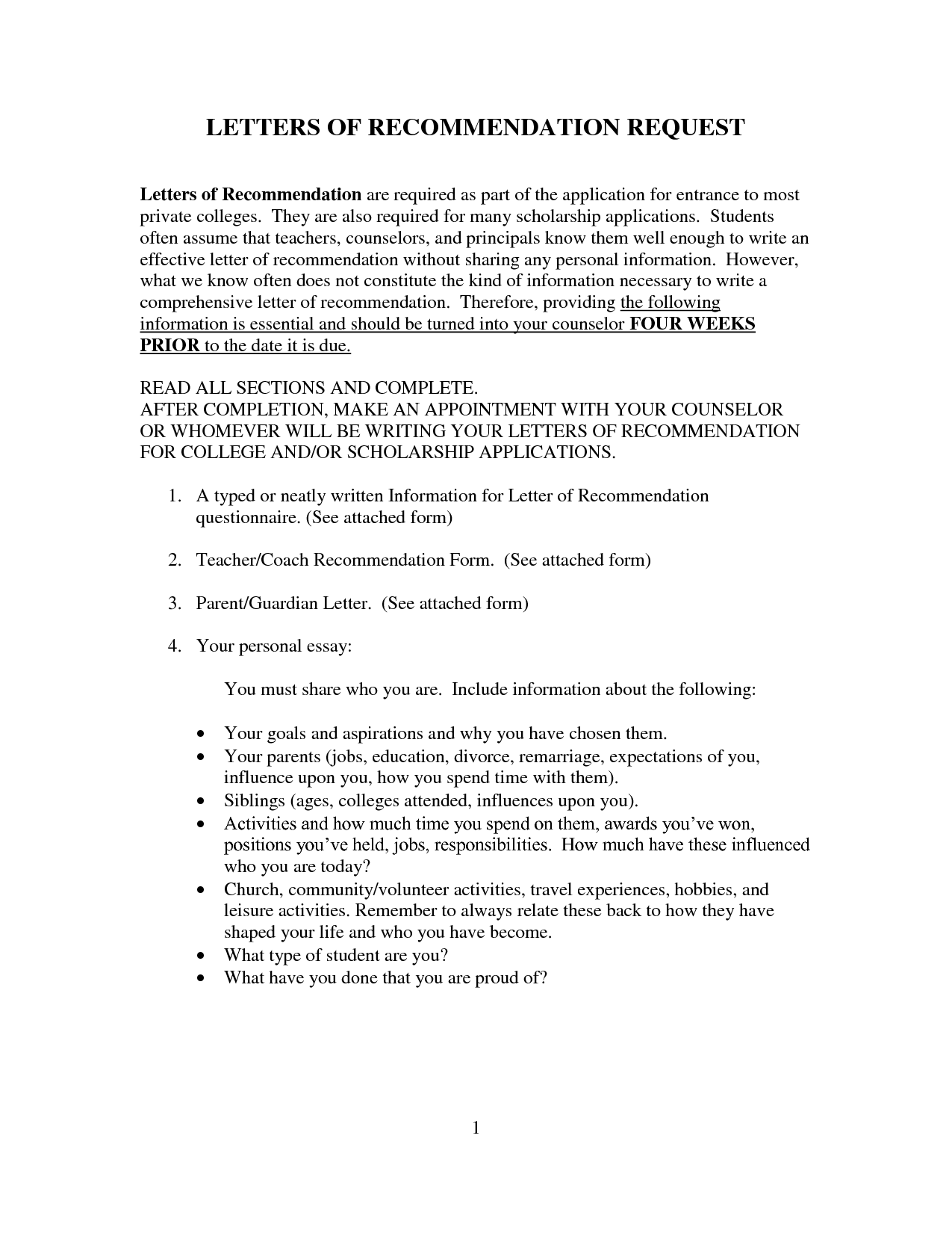 research recommendation sample pdf