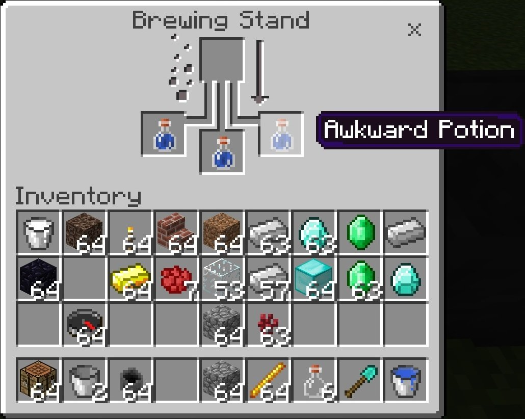 minecraft potion guide