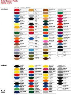 model master paint chart pdf