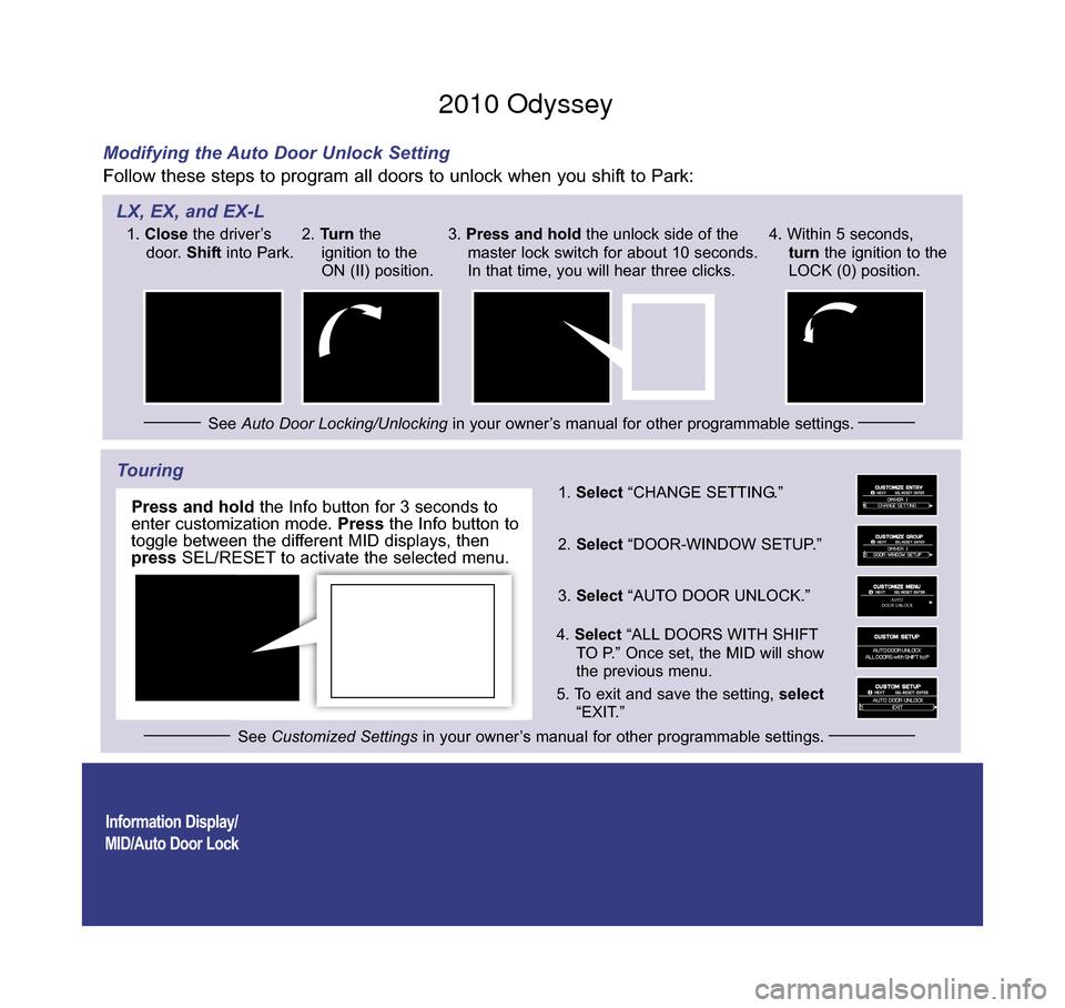 odyssey 2010 manual