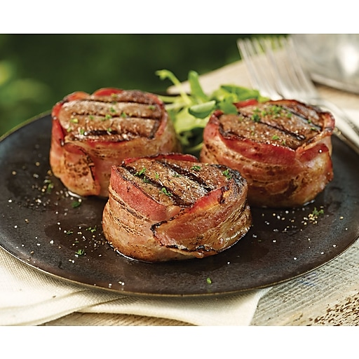 omaha steaks bacon wrapped filet mignon cooking instructions