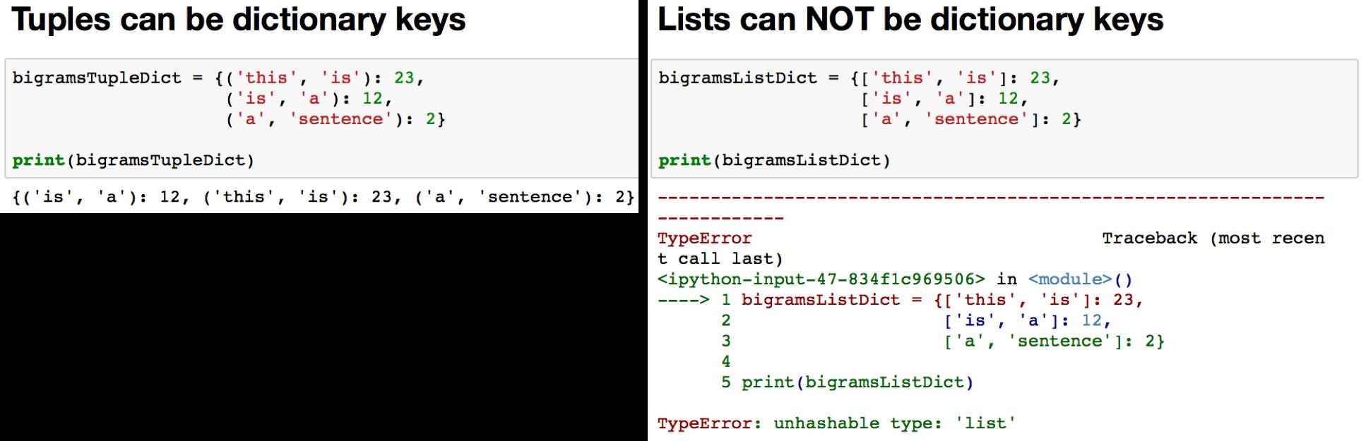 print dictionary as matrix python