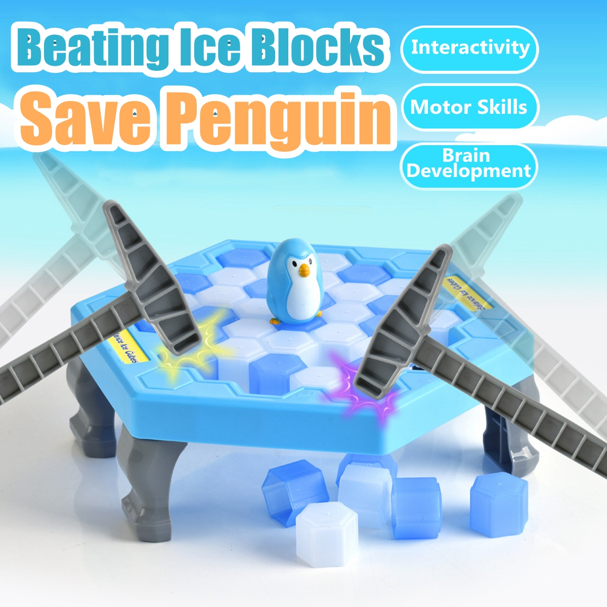 protect the penguin game instructions