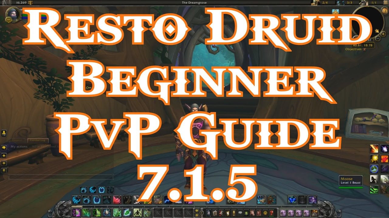 resto druid guide 8.1