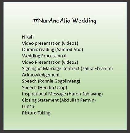 sample emcee script for wedding reception tagalog