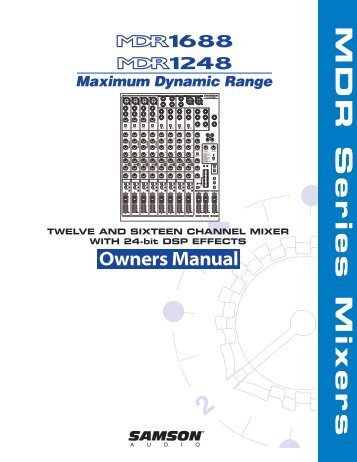 samson 3760 user manual