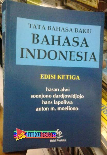 tata bahasa baku bahasa indonesia hasan alwi pdf