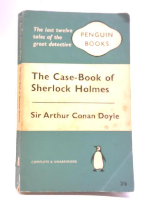 the case book of sherlock holmes pdf