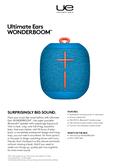 ultimate ears wonderboom manual