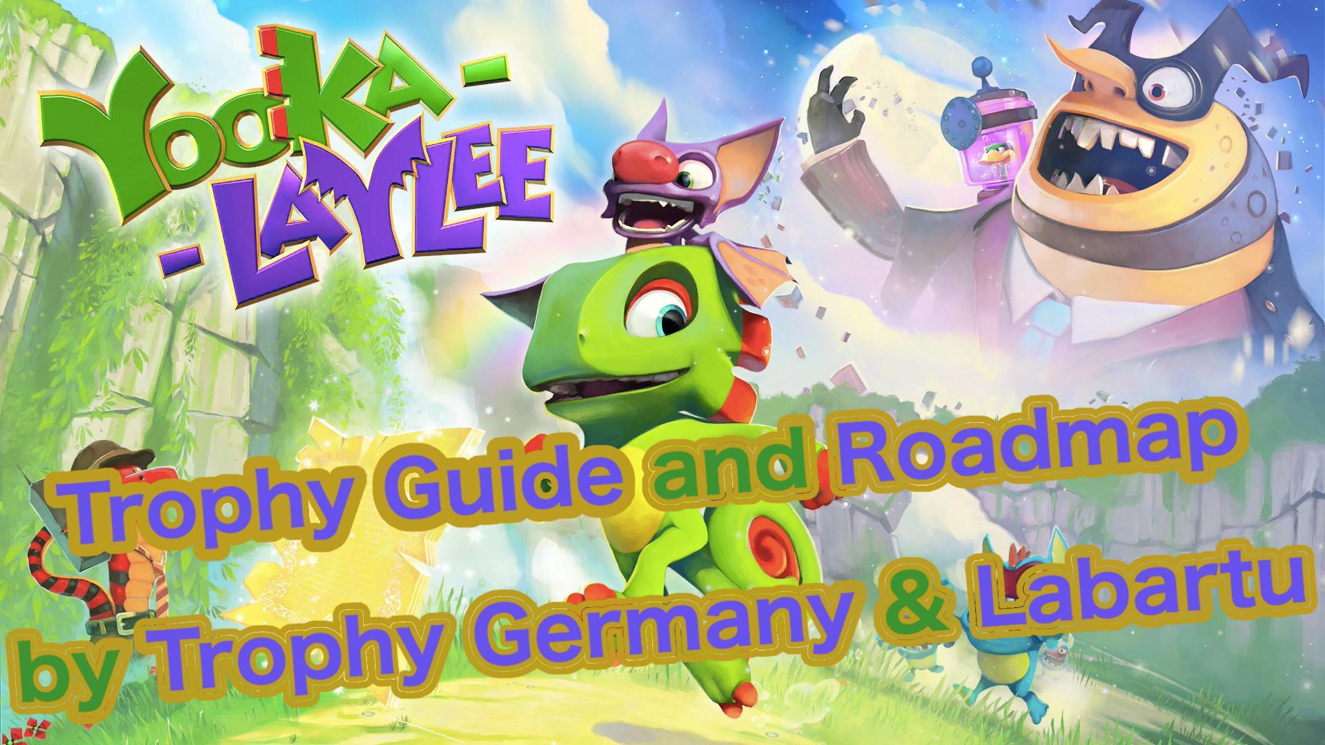 yooka laylee trophy guide